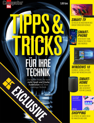 COMPUTER BILD Readly Exclusive Tipps & Tricks