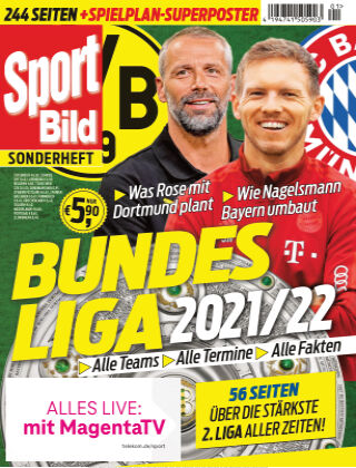 SPORT BILD Sonderhefte Bundesliga 2021-22
