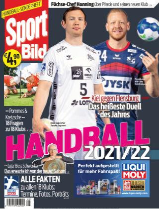 SPORT BILD Sonderhefte Handball 2021-22