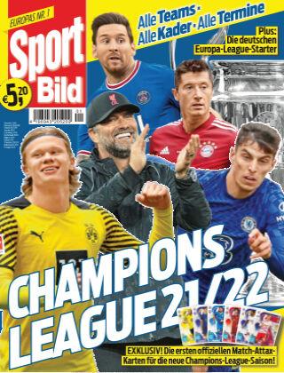 SPORT BILD Sonderhefte Champ. League 2021