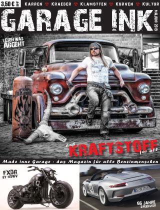 GARAGE INK's KRAFTSTOFF Majuni 2019