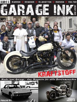 GARAGE INK's KRAFTSTOFF Jugust 2019