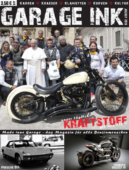 GARAGE INK's KRAFTSTOFF July 19, 2019 00:00