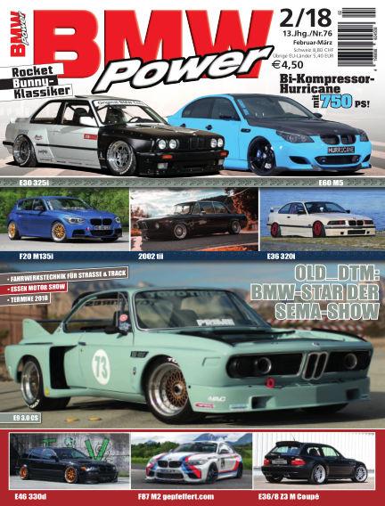 BMW Power January 23, 2018 00:00