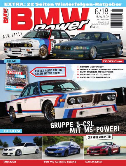 BMW Power September 26, 2018 00:00