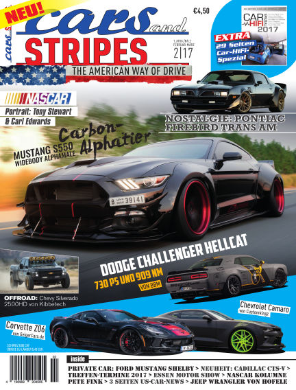 Cars & Stripes Magazin January 27, 2017 00:00