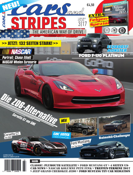 Cars & Stripes Magazin April 05, 2017 00:00