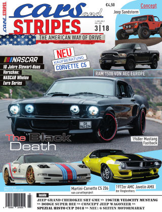 Cars & Stripes Magazin 3-2018