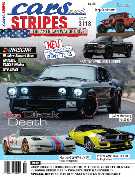 Cars & Stripes Magazin April 14, 2018 00:00