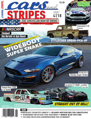 Cars & Stripes Magazin 4-2018