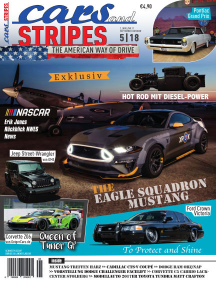 Cars & Stripes Magazin August 29, 2018 00:00