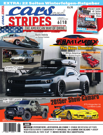 Cars & Stripes Magazin October 31, 2018 00:00