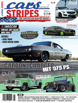 Cars & Stripes Magazin 1-2019