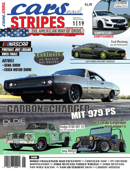 Cars & Stripes Magazin December 28, 2018 00:00