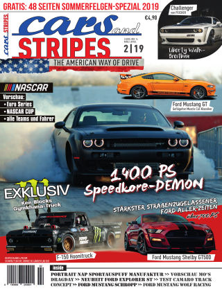 Cars & Stripes Magazin 2-2019