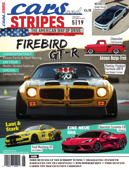 Cars & Stripes Magazin August 28, 2019 00:00