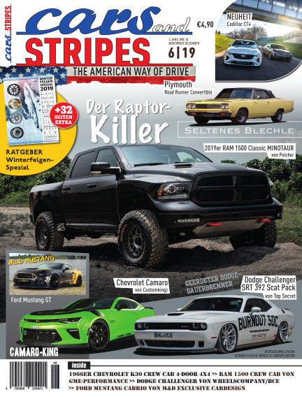 Cars & Stripes Magazin October 23, 2019 00:00