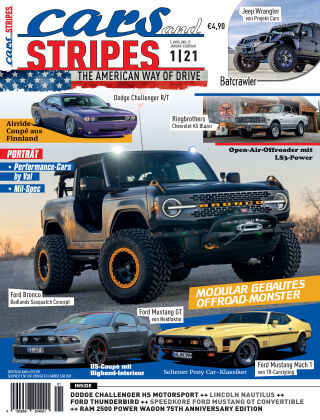 Cars & Stripes Magazin 1-2021