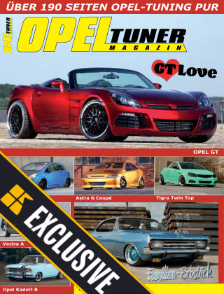 Best of Tuner Readly Exclusive Best of Opel Tuner