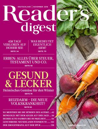 Reader's Digest 11/2016