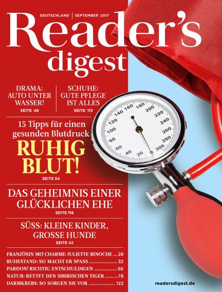 Reader's Digest August 28, 2017 00:00