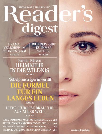 Reader's Digest November 27, 2017 00:00