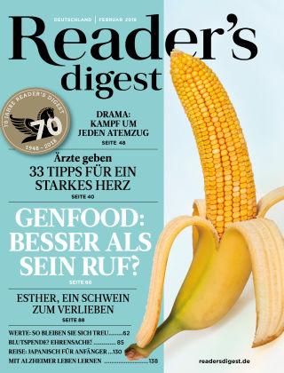 Reader's Digest 02/2018