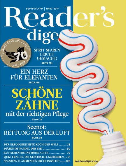 Reader's Digest February 26, 2018 00:00