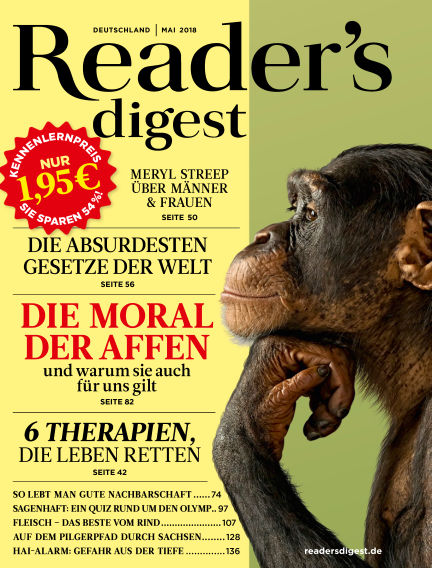 Reader's Digest May 01, 2018 00:00