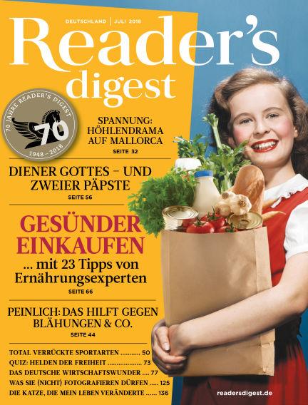 Reader's Digest June 25, 2018 00:00