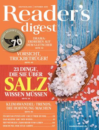 Reader's Digest 10/2018