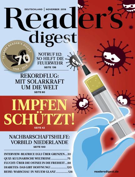 Reader's Digest October 29, 2018 00:00