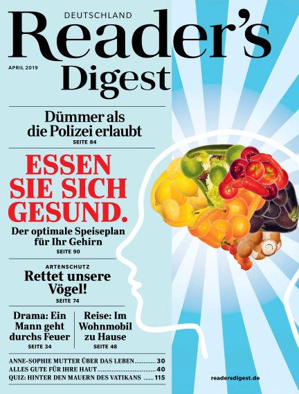 Reader's Digest March 21, 2019 00:00