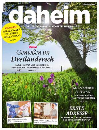 daheim März/April