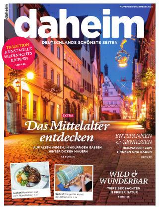 daheim November/December