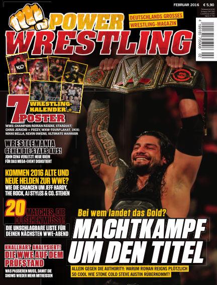 Power-Wrestling January 22, 2016 00:00