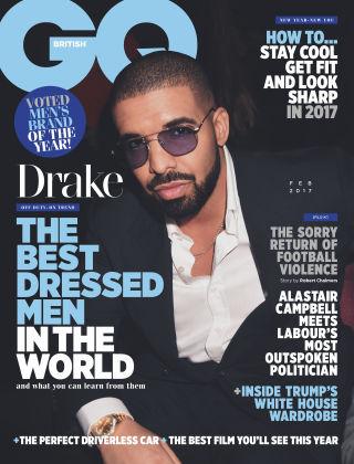 British GQ February 2017