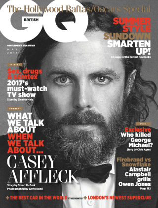 British GQ May 2017