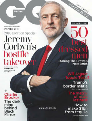 British GQ Jan-Feb 2018