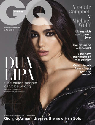 British GQ May 2018