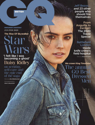 British GQ Jan 2020