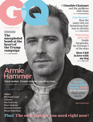 British GQ November 2020
