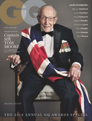British GQ January/Feb 2021