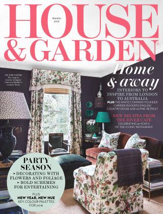 House & Garden Jan 2018
