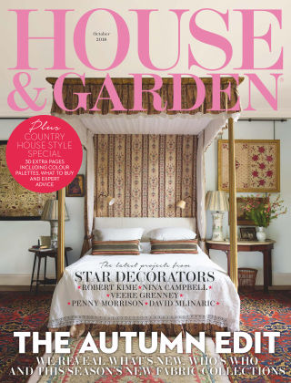 House & Garden Oct 2018