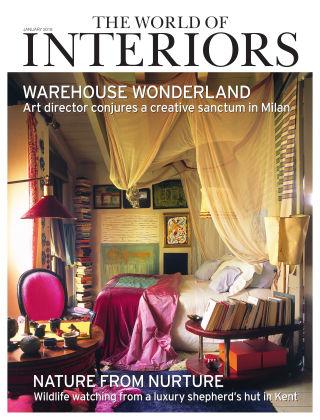 The World of Interiors Jan 2018