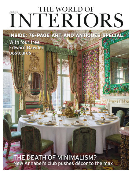 The World of Interiors May 10, 2018 00:00