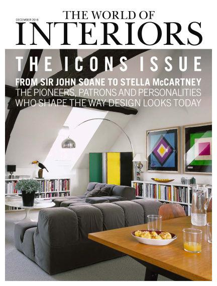 The World of Interiors November 08, 2018 00:00