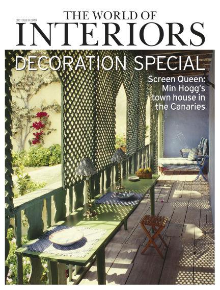 The World of Interiors September 05, 2019 00:00