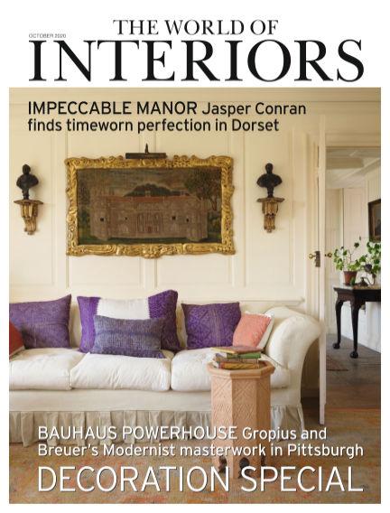 The World of Interiors September 03, 2020 00:00